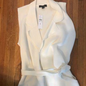 NWT- Ann Taylor wrap tie Vest